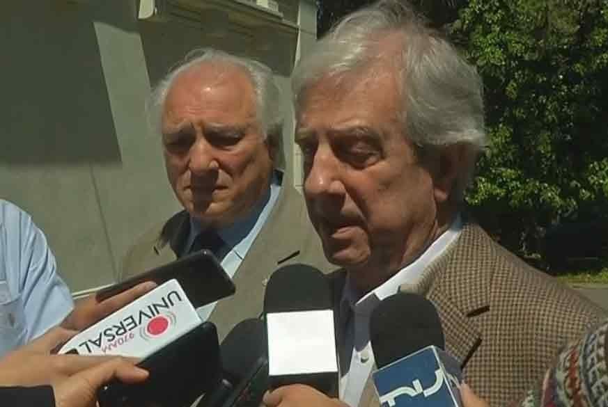 Vázquez criticó propuestas de Lacalle y Larrañaga, y respondió acusaciones de Manini Ríos
