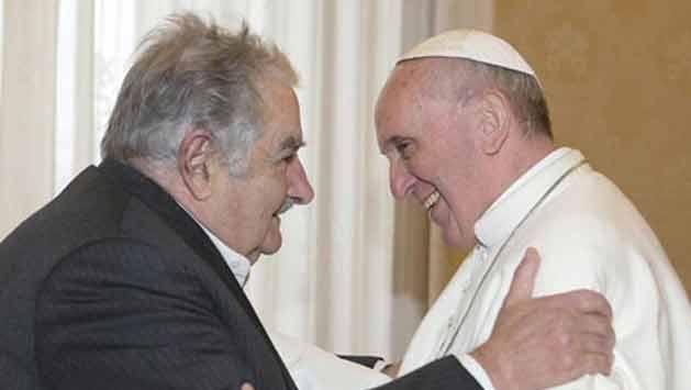 El papa Francisco recibirá otra vez a Mujica, pero ahora en visita privada