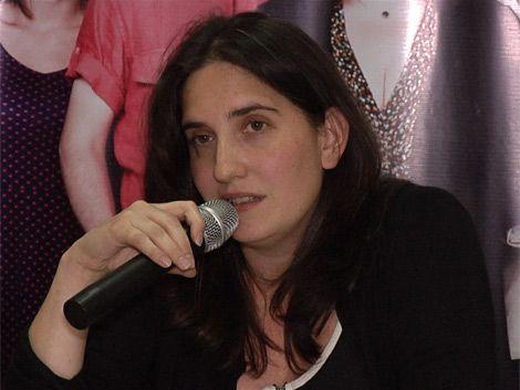 Macarena Gelman presentó su candidatura a Diputados