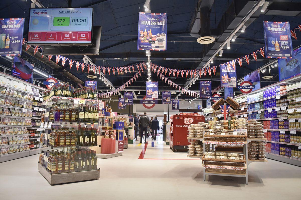 TiendaInglesalanzó la Fiesta de Gran Bretaña con presencia de la embajadora O´Connor