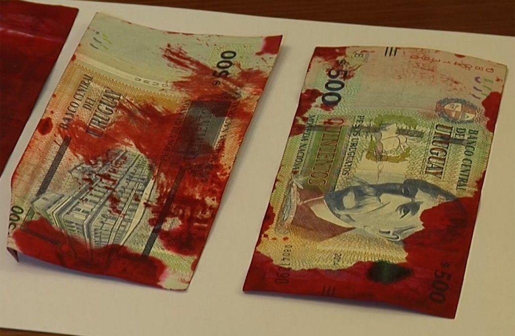 BROU descartó que cajeros dispensen billetes manchados con tinta de seguridad