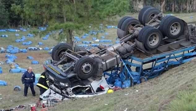 Dos fallecidos en accidente de tránsito en ruta 9, de Maldonado
