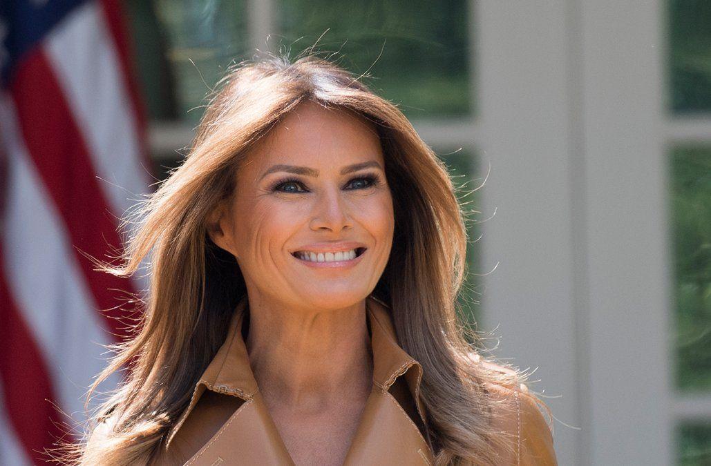 Melania Trump internada y operada de un problema renal
