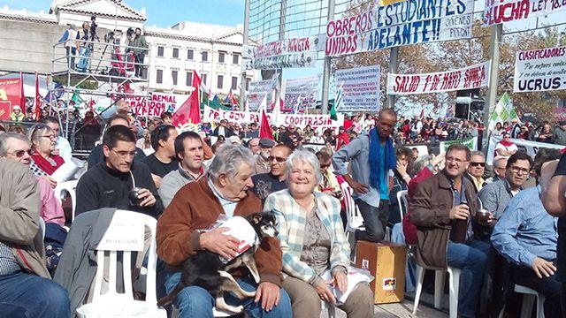 PIT-CNT dedica el 1º de mayo a la nueva agenda propuesta por Tabaré Vázquez