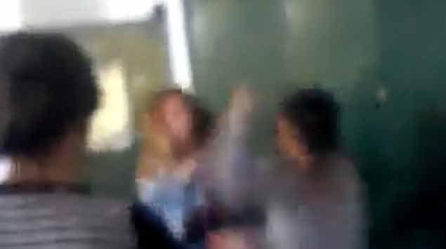 Violenta pelea entre alumnas es analizada por el Liceo Nº 3