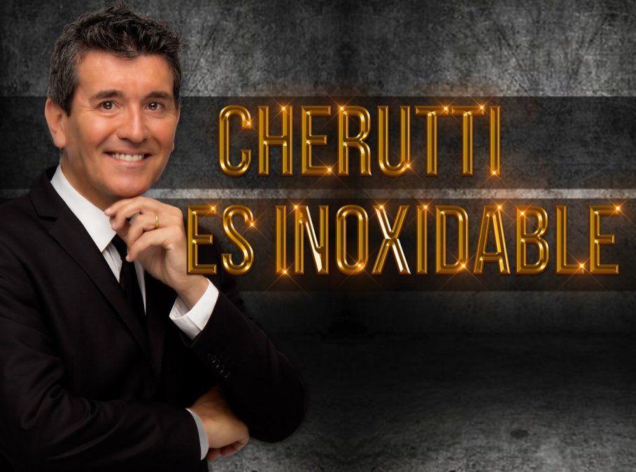 Miguel Angel Cherutti  Inoxidable en Teatro Metro