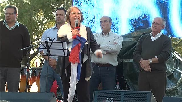 El Frente Amplio festejó este fin de semana las 6 intendencias ganadas