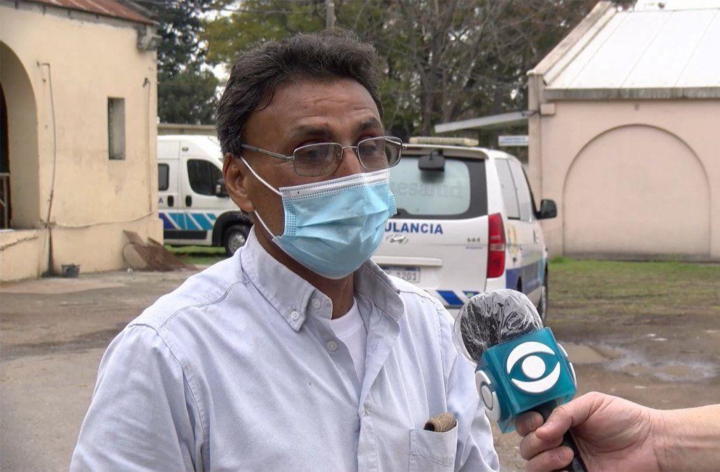 Chofer de ambulancia asistió un parto; no es partero pero lleva 18 nacimientos en su haber