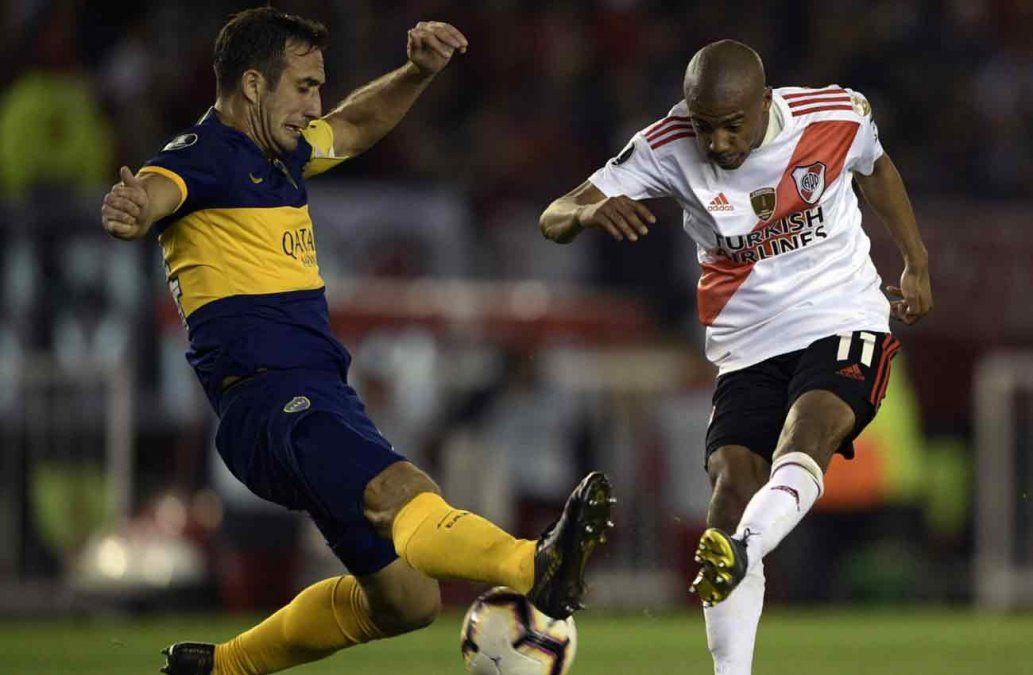 Conmebol mostró los audios del VAR en el partido entre River y Boca