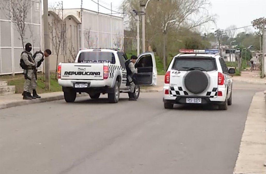 Operativo de seguridad de la Policía por los festejos de Nacional