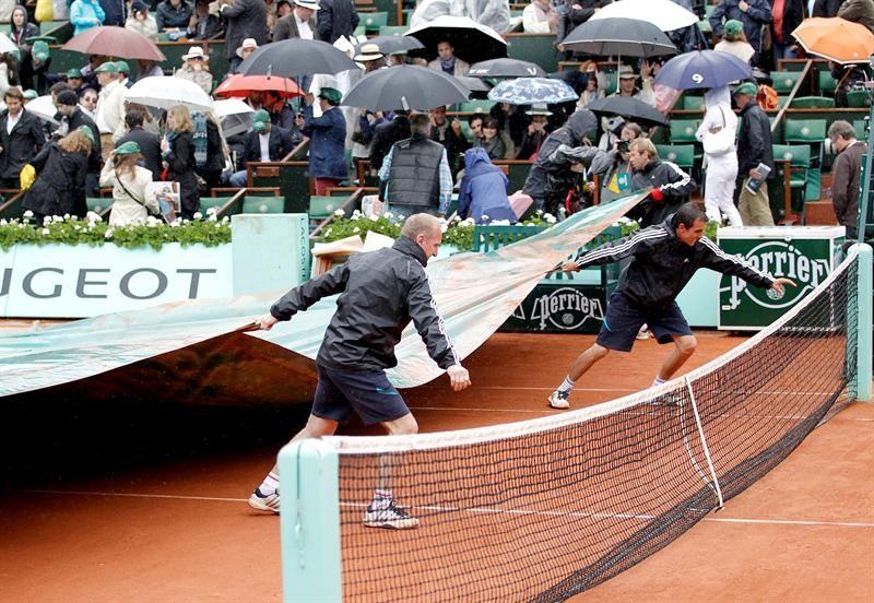 Lluvia impidió terminar final de Roland Garros