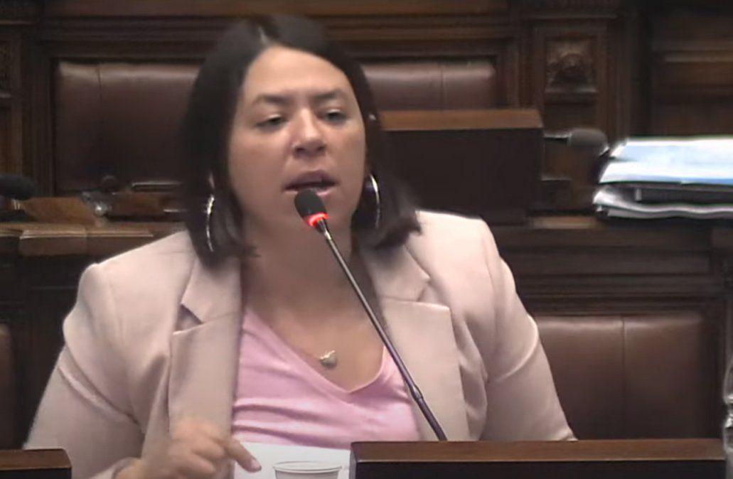 De guapos con fueros está llena esta Cámara, dijo la diputada del FA Bettiana Díaz
