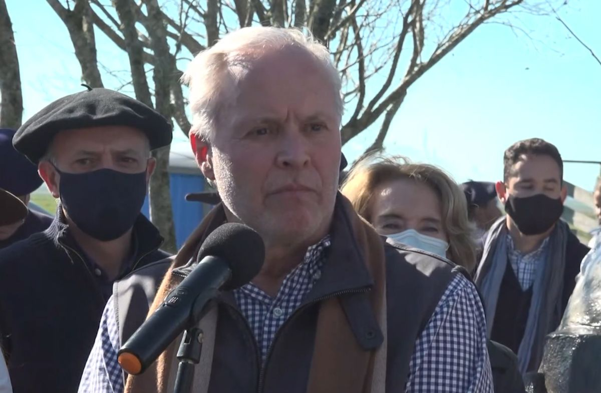 Iturralde llamó a defender la LUC y el modelo Larrañaga