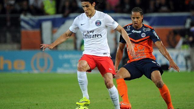 Edinson Cavani, campeón de la Liga francesa con el PSG