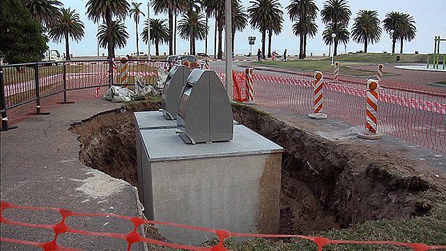 IM instaló 6 contenedores de basura subterráneos en Palermo y Barrio Sur