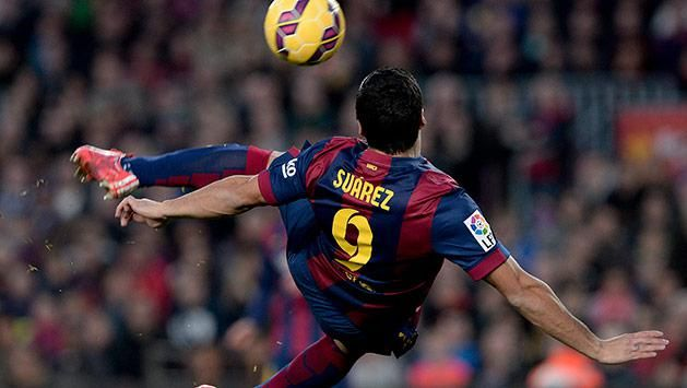 Suárez fue elegido el mejor de la fecha 34 de la Liga Española