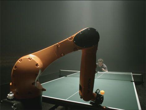 Duelo de ping pong: ¿gana el humano o el robot?