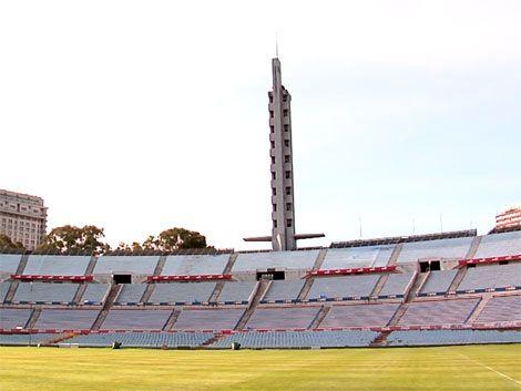 Estadio Centenario renovado para el partido ante Venezuela