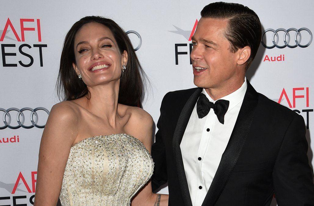 Angelina Jolie se anotó un triunfo en la batalla legal con su ex Brad Pitt
