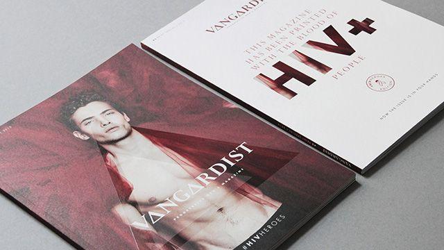 Imprimen revista austríaca con sangre de personas HIV positivas
