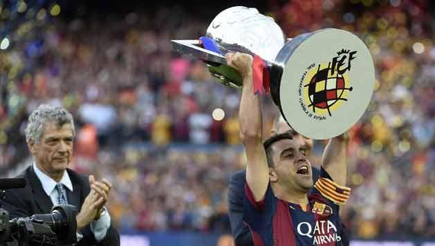 El gran Xavi se despidió de Barcelona tras 17 años y 23 títulos