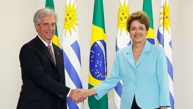 Vázquez y Rousseff: Acuerdo del Mercosur con Unión Europea es prioridad