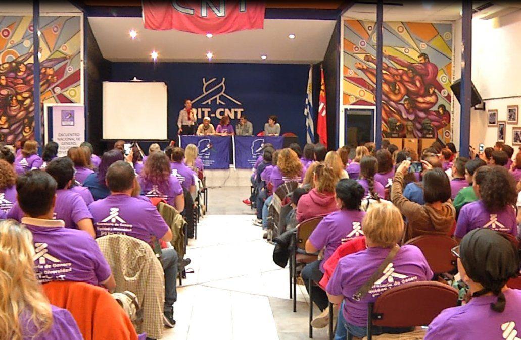 PIT-CNT realizó este sábado un Encuentro nacional de género
