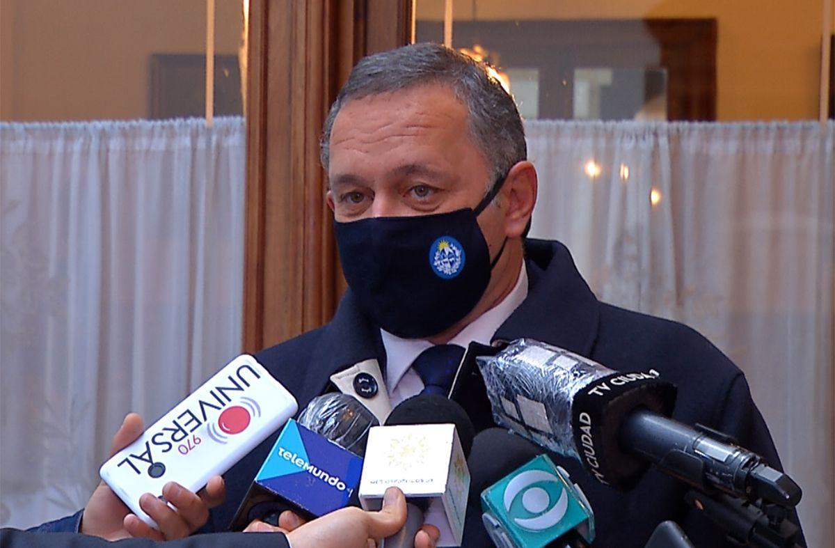 Álvaro Delgado: Uruguay se pude exhibir como caso de pandemia controlada por vacunación