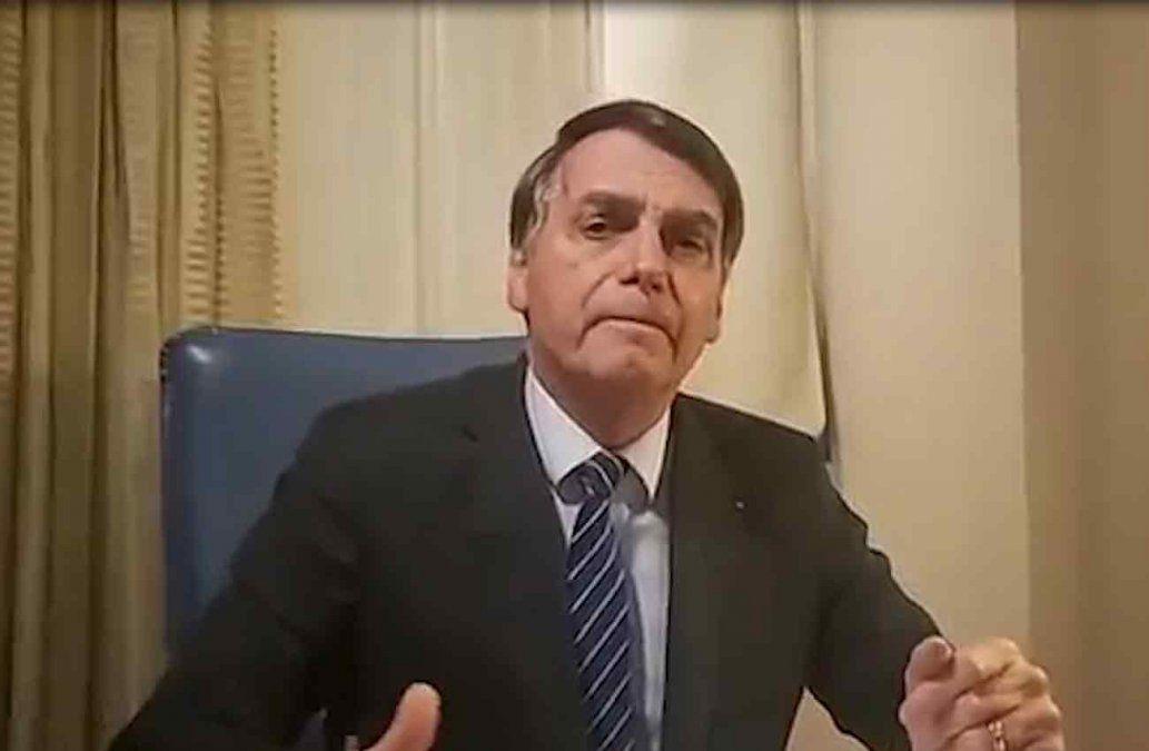 Bolsonaro atacó a TV Globo por involucrarlo en el asesinato de Marielle Franco