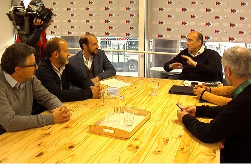Amado le presentó a Martínez propuestas para sumar a su programa de gobierno