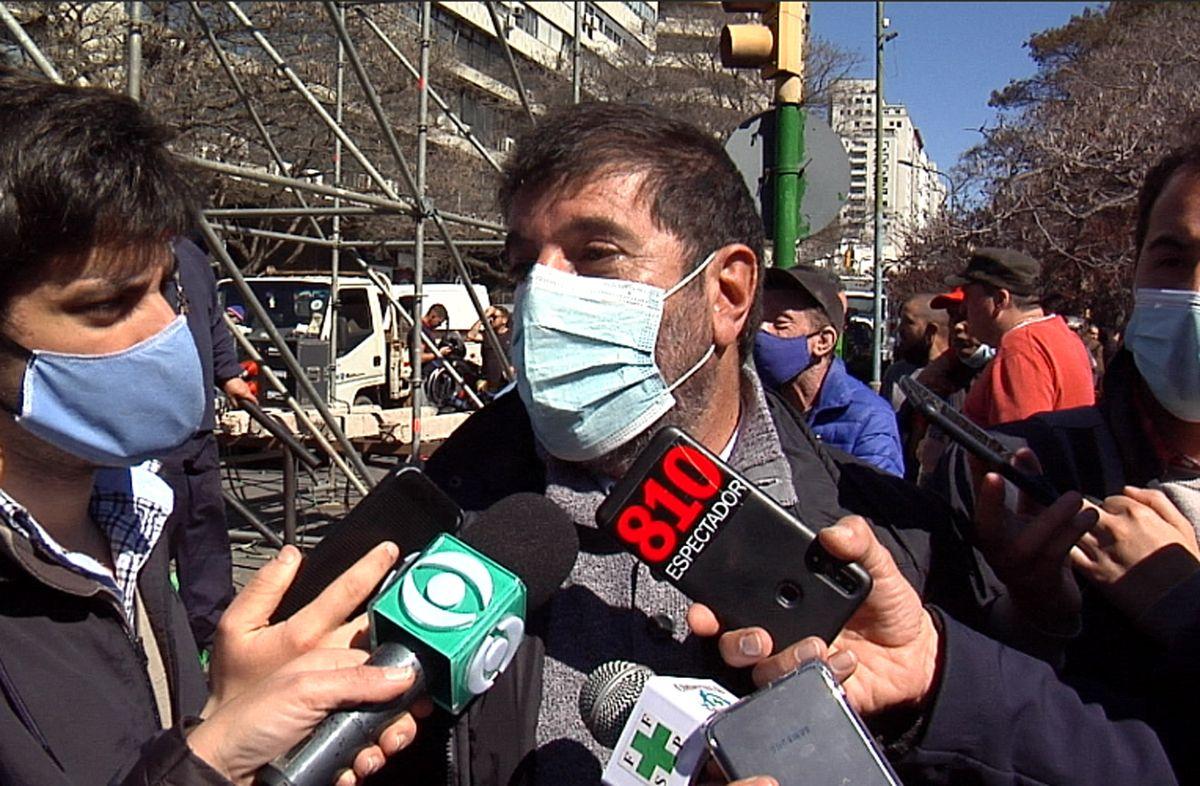Fernando Pereira a Lacalle Pou: Si, el paro es profundamente político