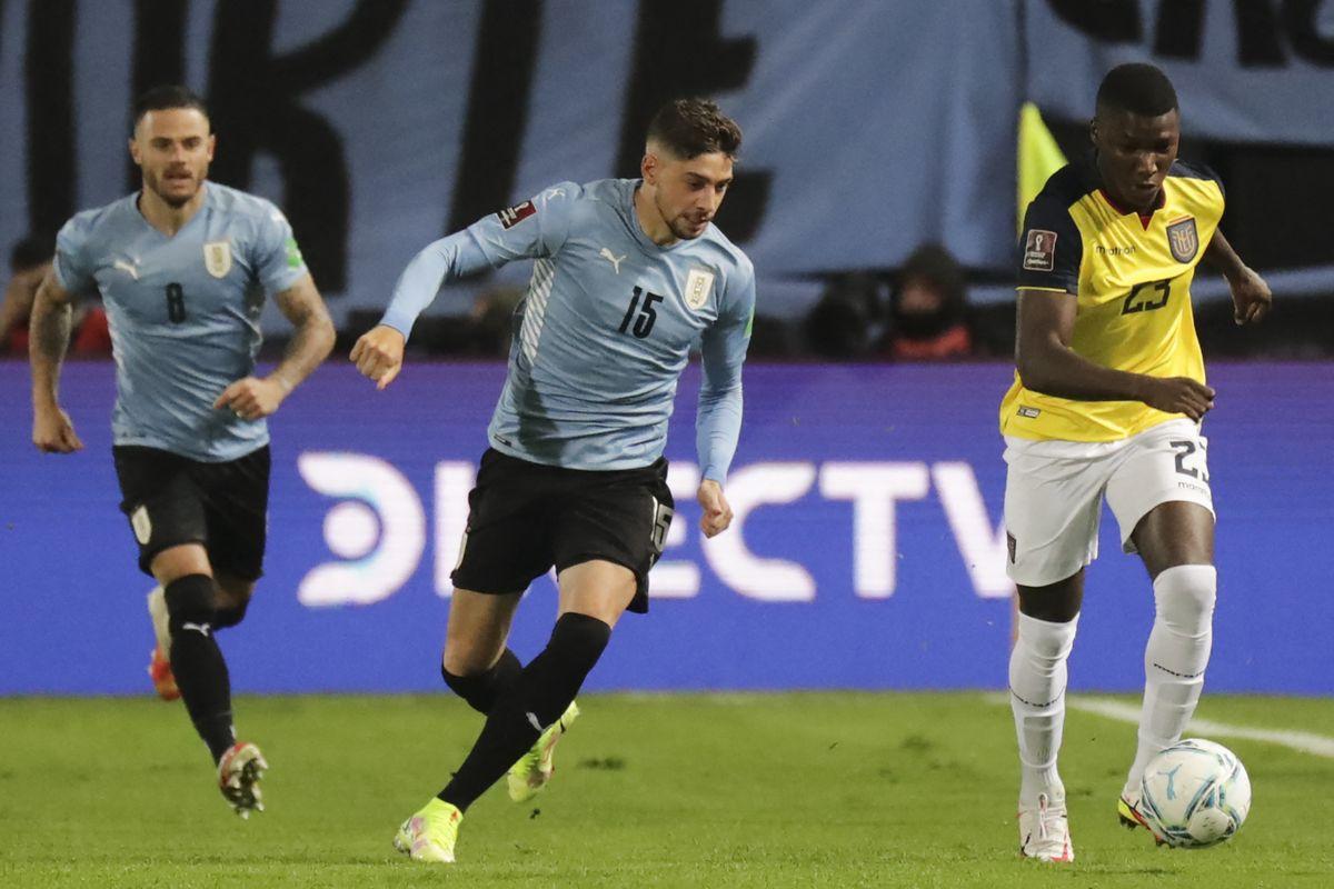 Uruguay le ganó 1-0 a Ecuador y quedó en el tercer lugar rumbo a Catar-2022