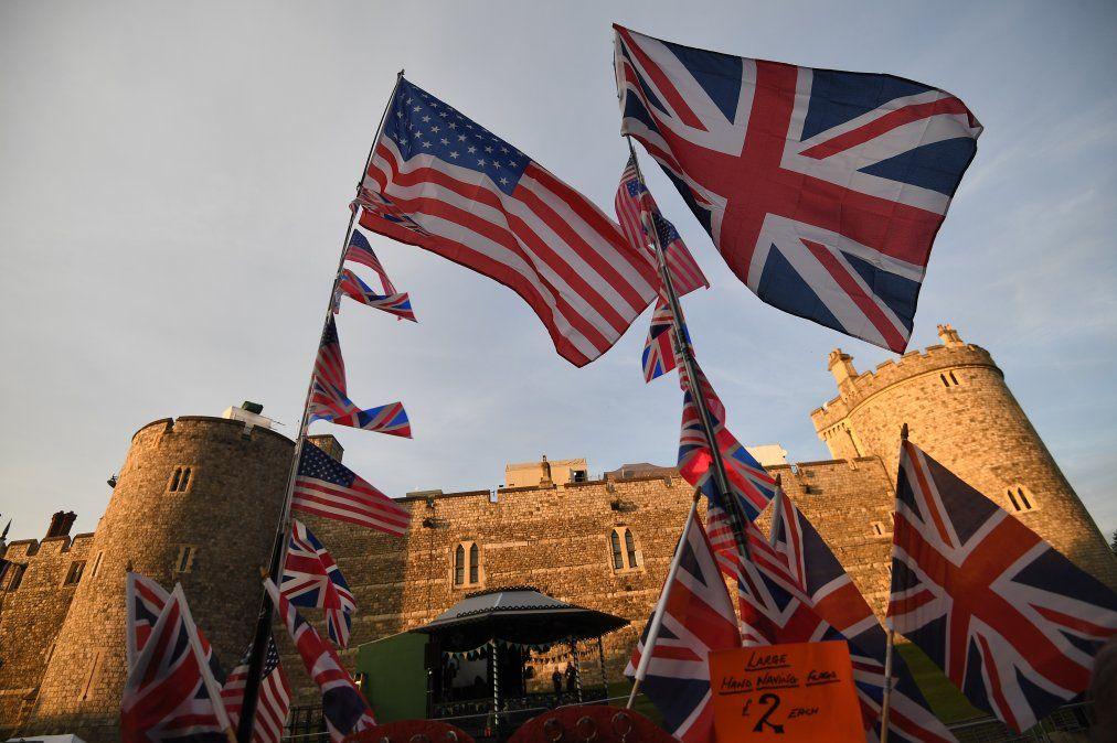 Windsor convertido en fortaleza a un día de la boda del príncipe Harry