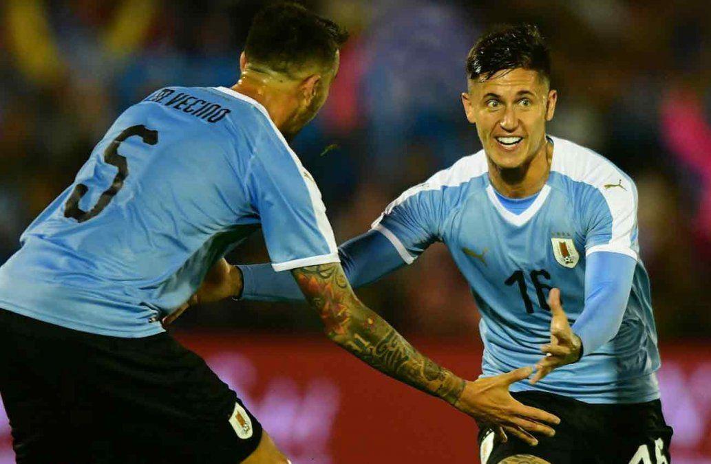 Con gol de Brian Rodríguez Uruguay venció a Perú 1-0