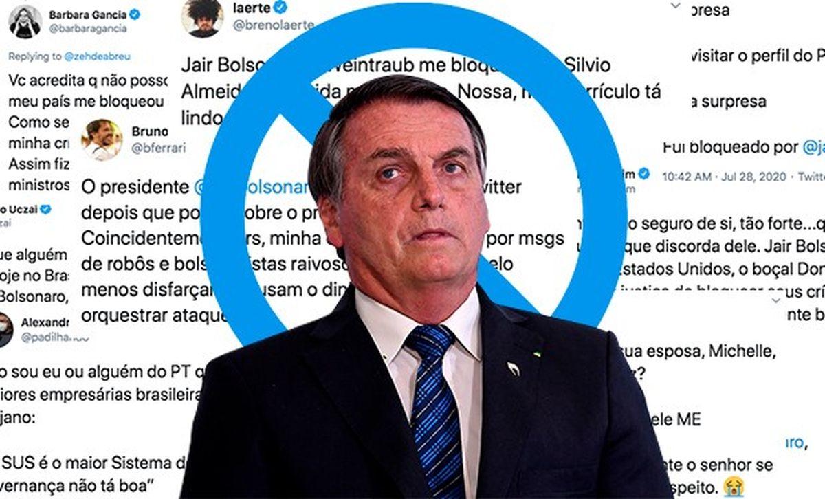 Bolsonaro firmó decreto al calor del momento. Foto: O Globo