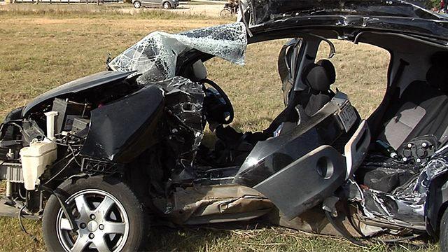 Accidente  automovilístico en Solymar dejó tres jóvenes muertos