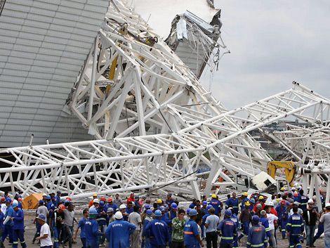 Séptimo obrero muerto en los estadios del Mundial de Brasil 2014
