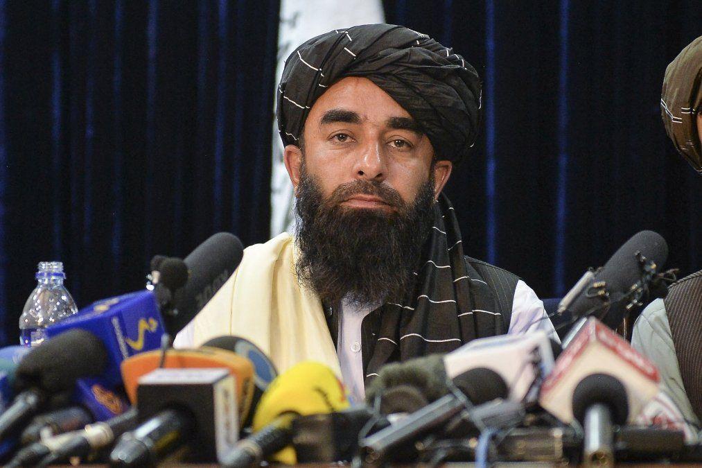 El portavoz de los talibanes