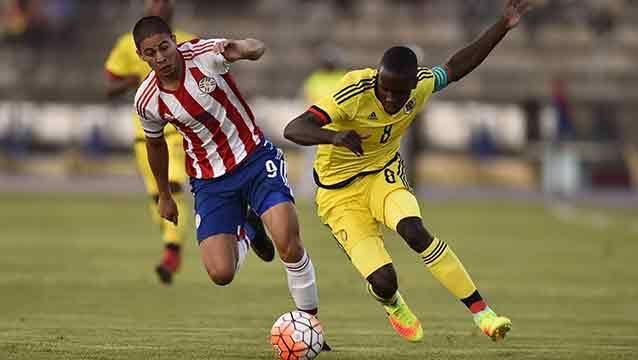 Colombia y Paraguay abrieron el Sudamericano Sub 20 con empate 1-1