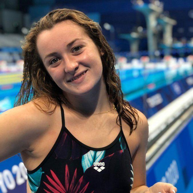 Nadadora uruguaya Nicole Frank compitió en 200 metros combinados en Juegos Olímpicos