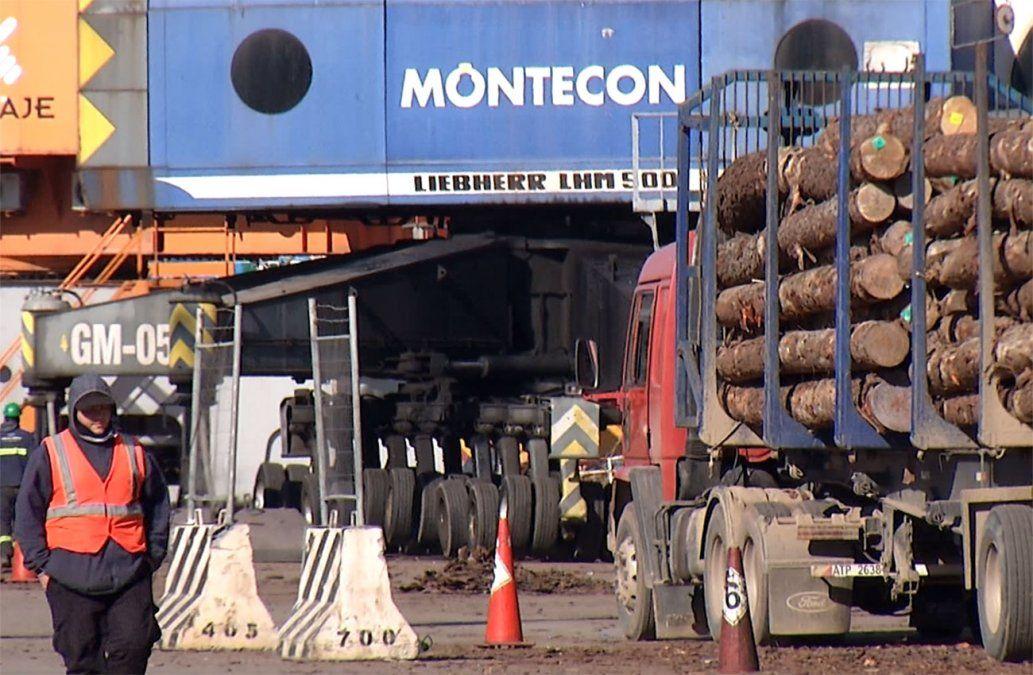 La carga de contendedores en el Puerto de Montevideo aumentó 30% respecto a 2020