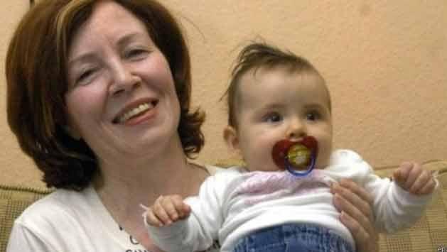 Una alemana de 65 años y con 13 hijos, dio a luz a cuatrillizos