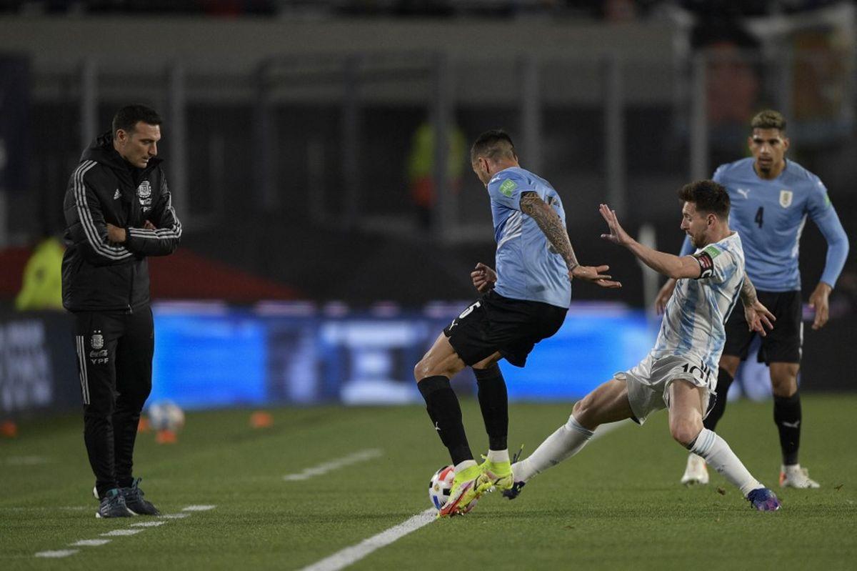 Argentina - Uruguay en imágenes: así fue el partido en el Monumental por Eliminatorias
