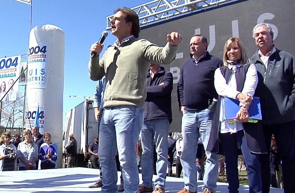 Acuerdos políticos: Lacalle Pou se siente más afín con Manini Ríos que con el Frente Amplio