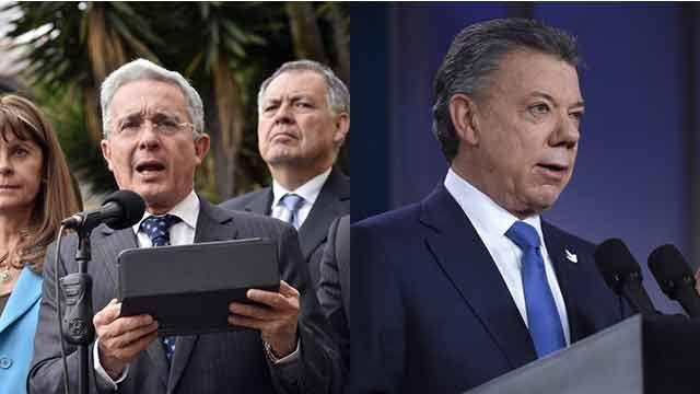 Santos y Uribe buscan juntos una nueva alternativa para la paz en Colombia