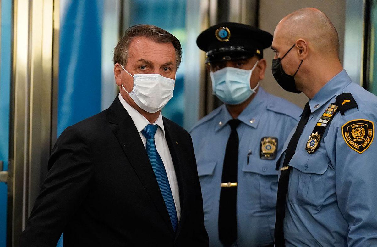 Bolsonaro dió negativo a Covid-19 y subió a cuatro los contagios en comitiva a la ONU