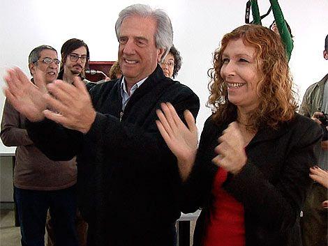 Vázquez y Moreira intercambian discursos de izquierda tradicional