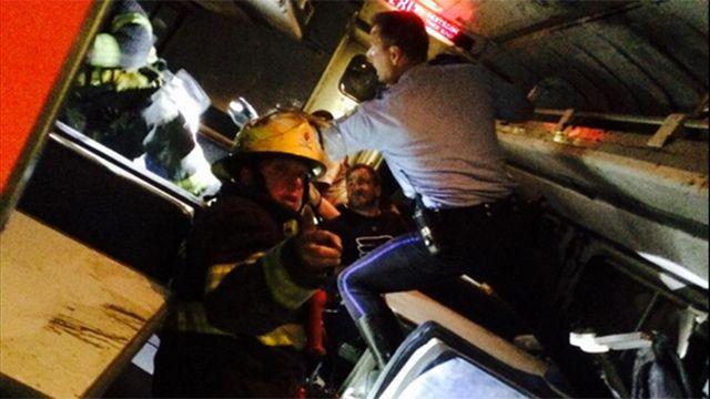 Descarriló un tren en Filadelfia: hay al menos 6 muertos y 140 heridos