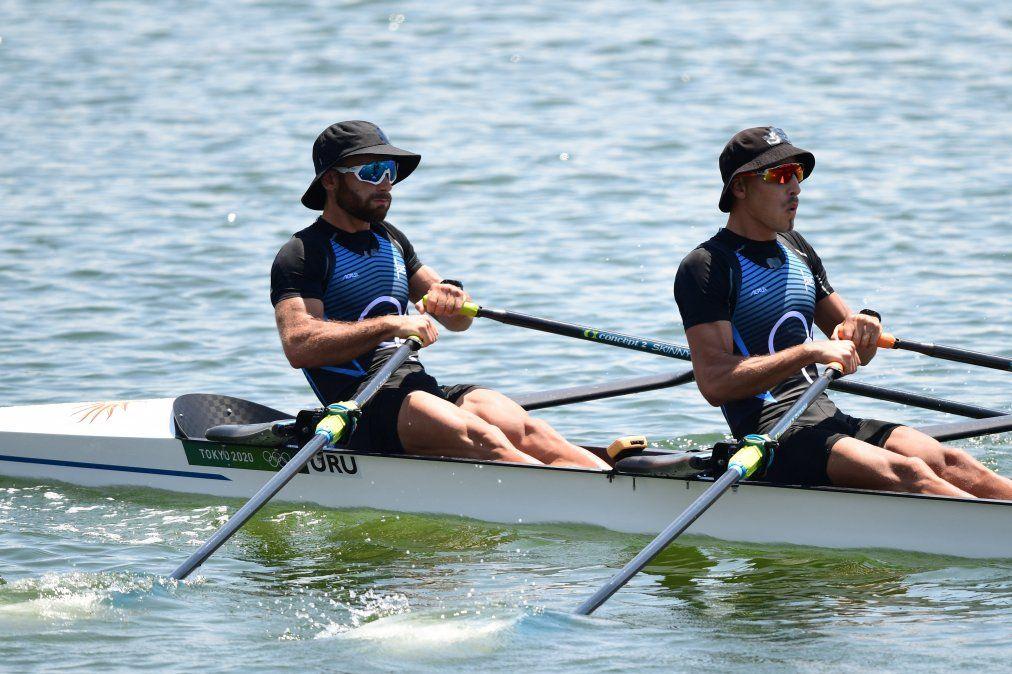 La dupla de remeros Cetraro-Klüver estará en la final olímpica de Doble Scull Ligero