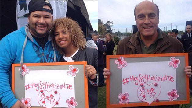 Cientos de personas acompañaron la paella solidaria de Escuela Horizonte